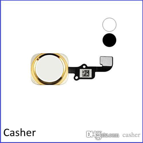 Black / Silver / Gold Home Button + Fle x Cable Assembly para iPhone 6 4.7 y iPhone 6 Plus 5.5