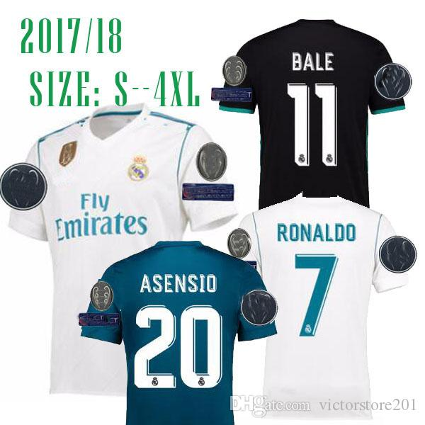 new concept 73b87 93afb real madrid champions league jersey