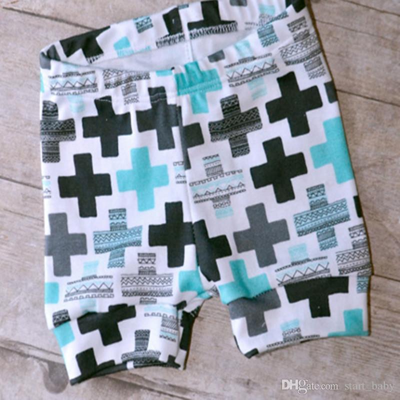 Baby INS Outfits 2017 Sommer Zweiteiler Ins Kleidung Baumwolle Kreuz Feder Weste Tops Shorts Sets Baby Jungen Mädchen Kleidung DHL verschiffen