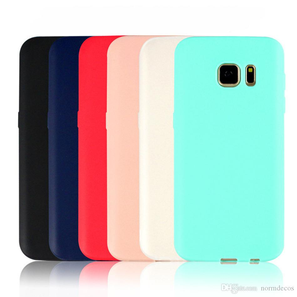 For Samsung S7 edge J7 Grind arenaceous tpu + phone casa TPU super thin shell for DHL