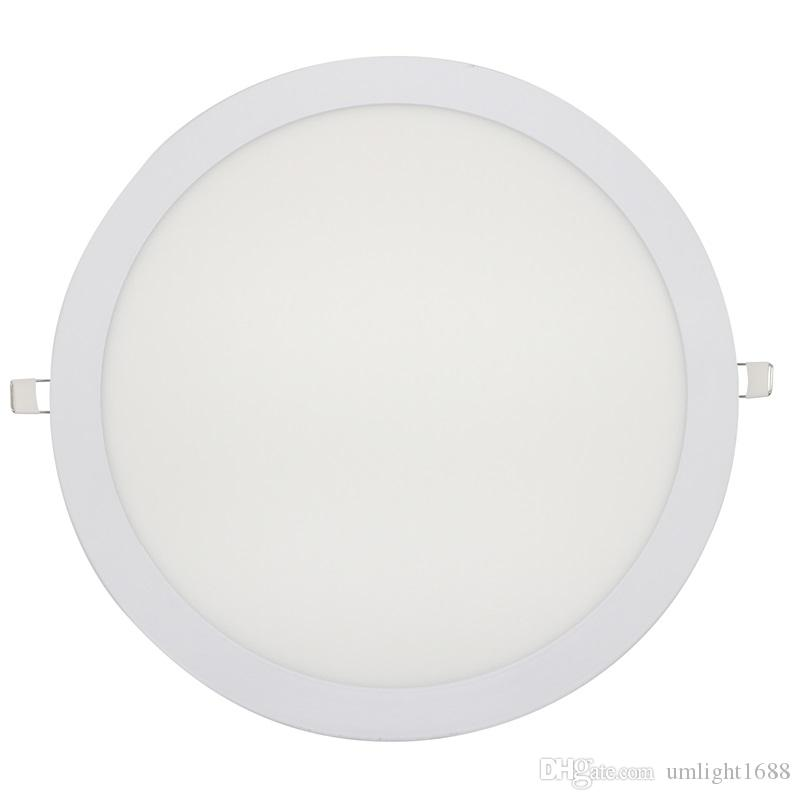 3 w 6 w 9 w 12 w 15 w 18 w 24 w quadrado led downlight painel ultra fino do teto do diodo emissor de luz recesso luz do painel ac85-265v led lâmpada lâmpadas