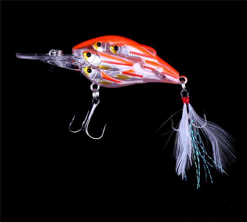 Бренд Шад Crankbait нахлыстом приманки 11 см 12,5 г Большая игра живая цель гольян приманки рыболовные снасти