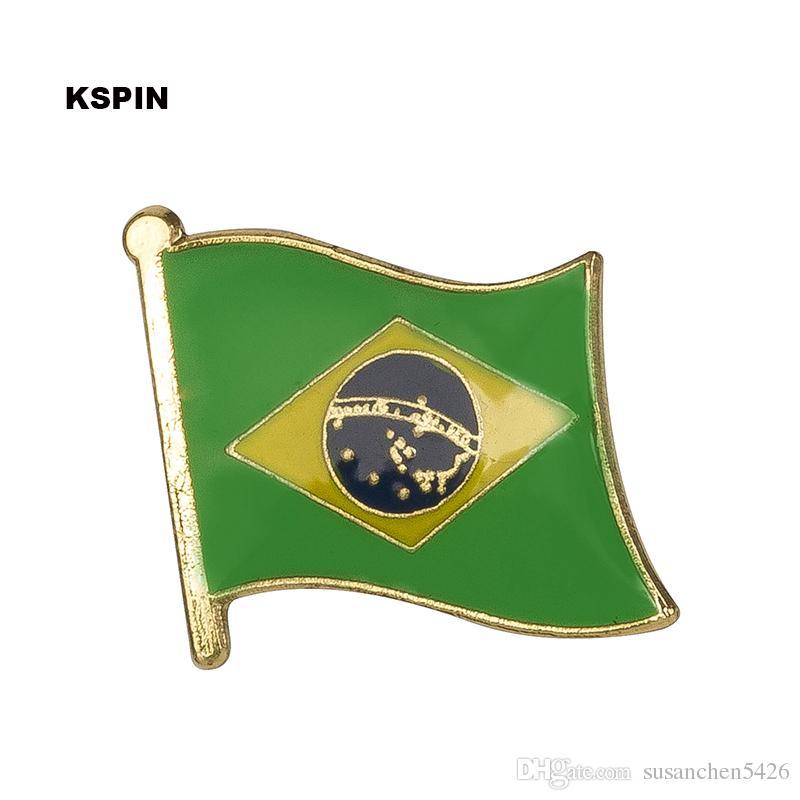 Ücretsiz kargo Avustralya Metal Bayrak Rozeti Bayrak Pin KS-0021