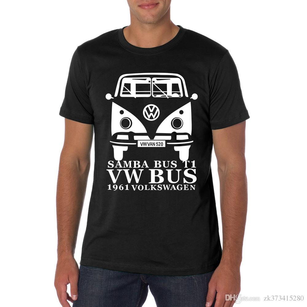 cotton shirts crew summer size tshirt item volkswagen neck s brand fitness men sleeve tees youth clothing vw male from super in t short