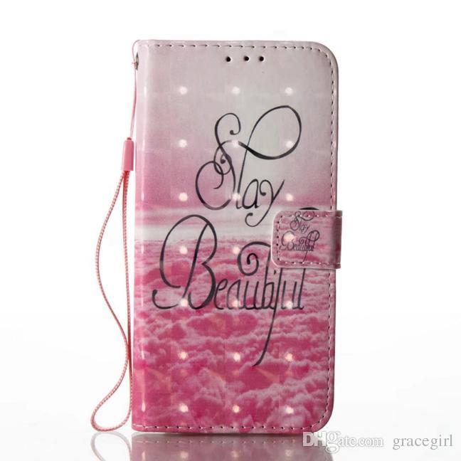 Dreamcatcher Papillon Portefeuille En Cuir Poche Pour Samsung Galaxy S8 Plus 2017 A3 A5 J7 J3 J5 S5 S6 S7 Bord Mandala Fleur Vache Couverture Cas