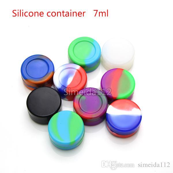 Высококачественный силиконовый контейнер 5мл 7мл с антипригарным покрытием контейнеры для пищевых продуктов