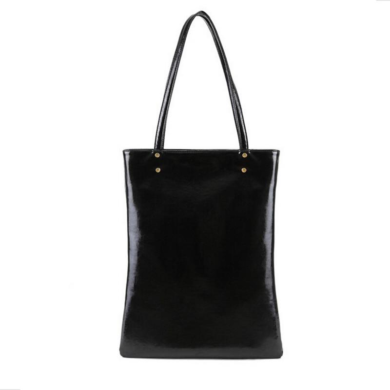 Wholesale B.Bag! Design Genuine Leather Women Handbag Shoulder Bags Simple  Euro Fashion Style Large Capacity Black Cowhide Real Leather Crossbody  Purses ... 350f20895fe65