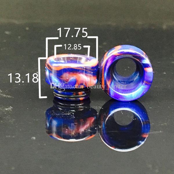 Venta caliente 810 Resina epoxi TFV8 Drip Tip para TFV8 Big Baby TFV12 Kennedy 24 Goon 528 RDA Atomizadores Vape e cig