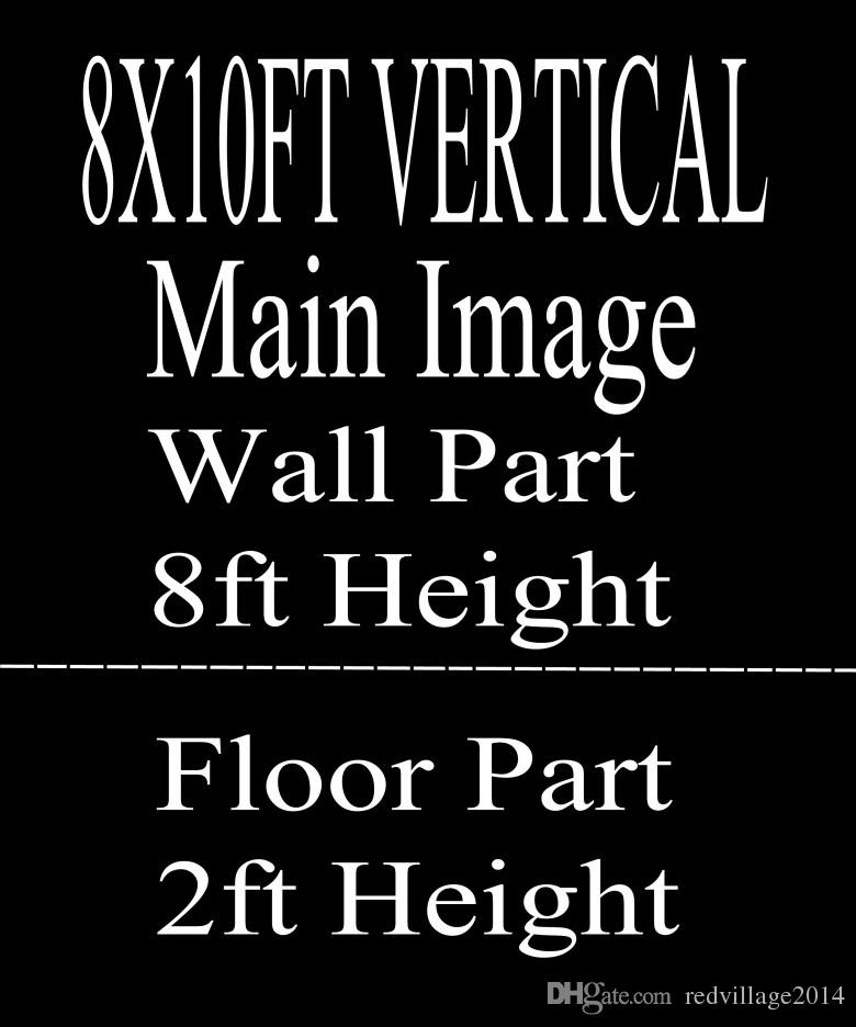 Wholesale Custom 8X10FT VERTICAL/10X8FT HORIZONTAL Photography Studio Background Backdrop For Camera Photos/Make Notes With Model /ID Number