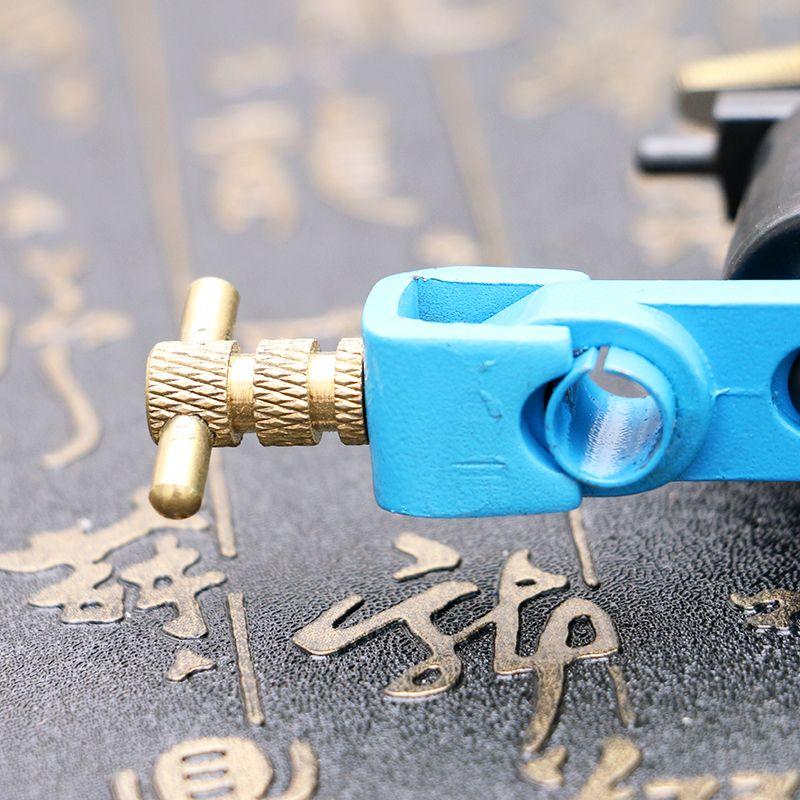 Wholesale- New Design Tattoo Machine 10 Wrap Coils Tattoo Gun Blue Bullet Design for Shader TM2383