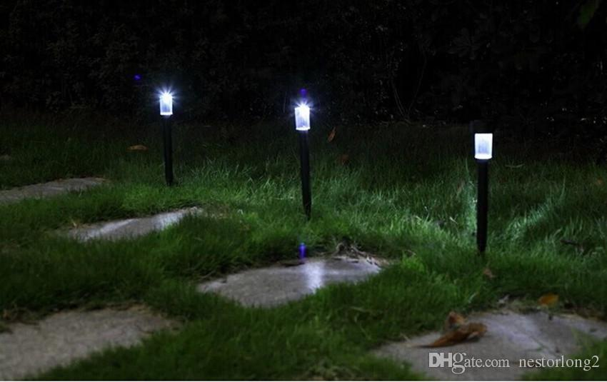 Stainless Steel Solar Lawn Light Garden Solar Power Light Outdoor Solar Lamp For Outdoor Landscape Yard Deck Pathway