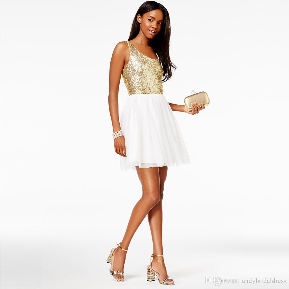Gold Cocktail Dresses Under 100