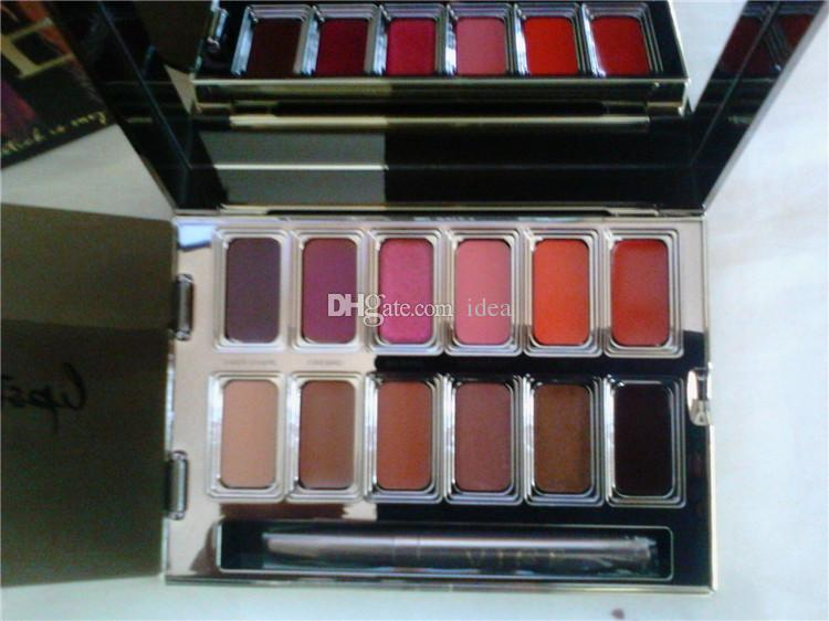 New NU Blackmail Vice Lipstick 12 Colors Lip Gloss Palette Cream Lip Makeup Long Lasting Cosmetics Limited Edition DHL Shipping