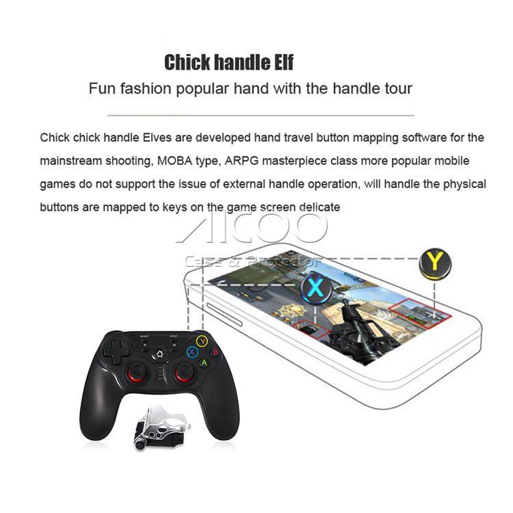 TI-800 Беспроводной Bluetooth игровой консоли контроллеры Bluetooth геймпад джойстик для Android iOS смартфон для Android TV Box PC таблетки