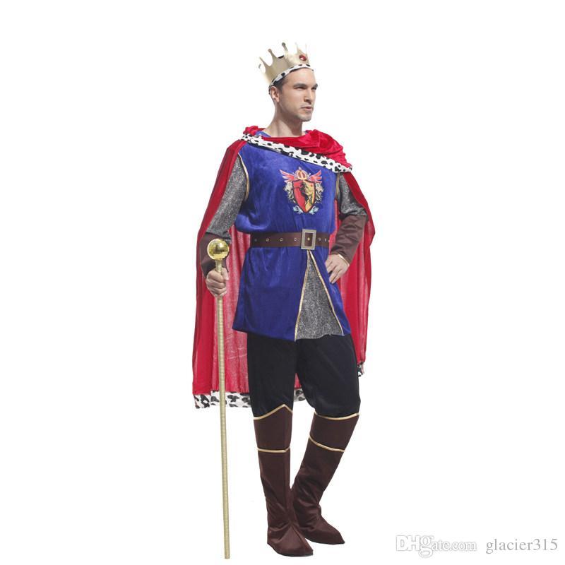 Shanghai Story Arab Prince King Cosplay Costumes Men Halloween ...