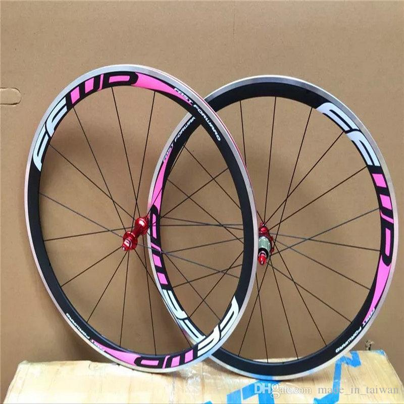 Best quality china bicycle carbon wheels FFWD F4R 38mm alloy brake surface road bike wheels 700C 23mm width cycling wheels