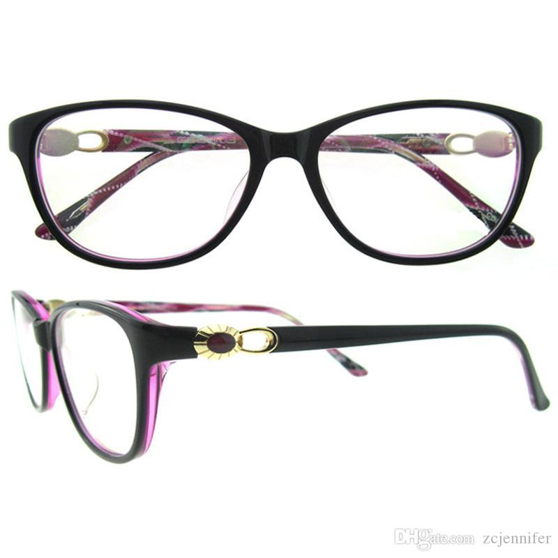 Oval Superfine And Light Weight Frame Mixed Colour Never Fades Gem ...