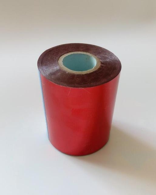 X131yards 8cmx120M Couleur Rouge A Chaud Marquage Feuille De Papier Lettres Transfert Chaleur Dorure PVC Carte Visite Emboss