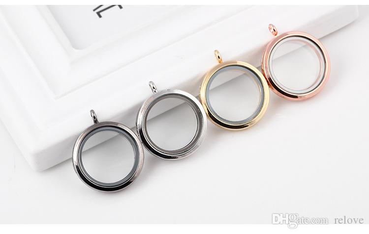 الجملة مجوهرات ديي الأزياء 30 ملليمتر العائمة المنجد diy إطارات الزجاج الشفاف العائمة السحر المناجد المعلقات مجوهرات