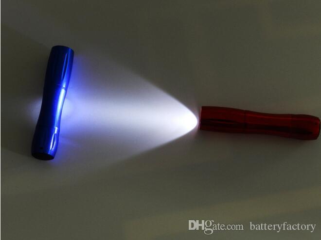 High quality mini LED Flashlight! Strong Lanterna Torch light Waterproof lantern penlightH09