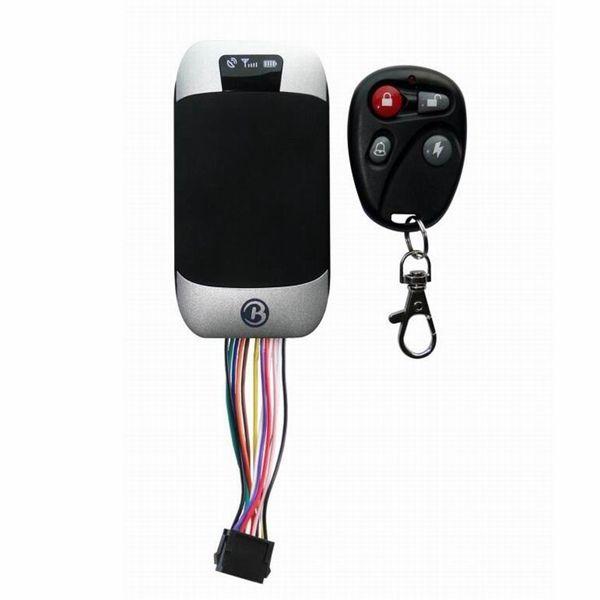 303G Araç GPS Tracker Quad Band Gerçek Zamanlı GSM GPS GPRS Takip Cihazları 303F Araba Güvenlik Hırsız Alarm Sistemi