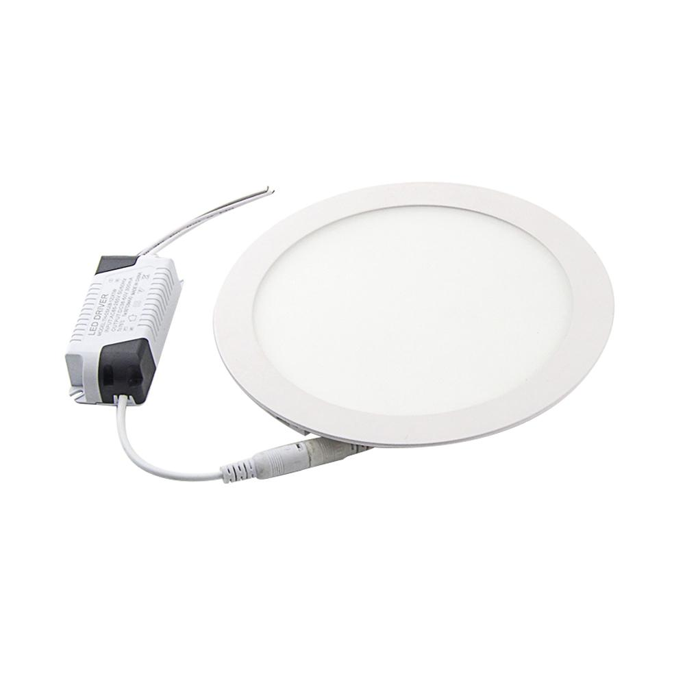 Wholesale Super Bright Round Led Panel Light 3w 6w 9w 12w 15w 18w Ultra Lamp For Ac230v Thin Ceilling Recessed Downlight Home Decoration Lighting