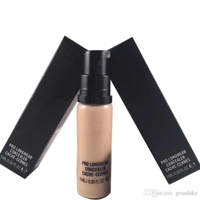 Hot Brand Makeup كريم الأساس السائل LONGWEAR CONCEALER CACHE-CERNES 9ML Foundation Hot NC NW مختلط بالجملة من Grandsky