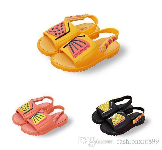 Dérapant Garçons Pour De Chat Chaussures Sandales Animé Melissa Mini Princesse Anti Enfants Filles Dessin Papillon l15uF3TKJc