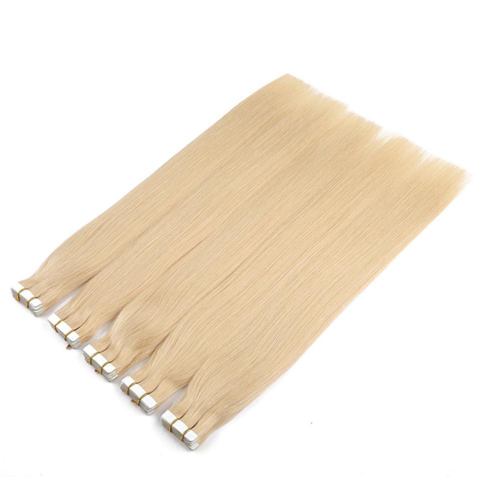 # 613 Band in Menschenhaarverlängerungen doppelt gezeichnet Virgin brasilianische Band Erweiterungen 14-26inch / brasilianisches reines glattes Haar