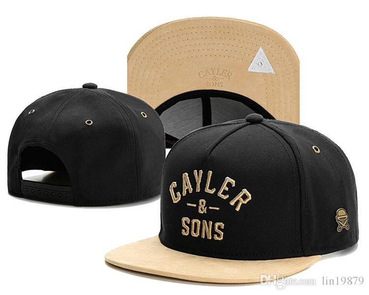 7d229b93ddd Adjustable Men Cayler   Sons Gorras Bones Snapback Hip Hop Hats Mens ...