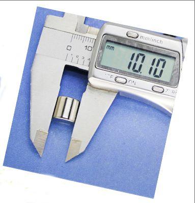 Vente aimant dur par sac, par sac aimant N35 de taille 10 * 10mm, aimant industriel, aimant quotidien,
