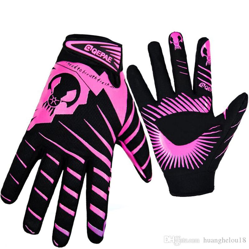 241ba58643 Qepae Bicycle Touch Screen Cycling Gloves Men Women Sports Full ...