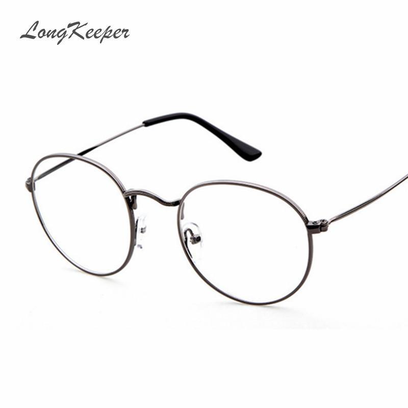 efe0220c2cb Wholesale- 2016 New Woman Glasses Frames Optical Metal Men Glasses ...