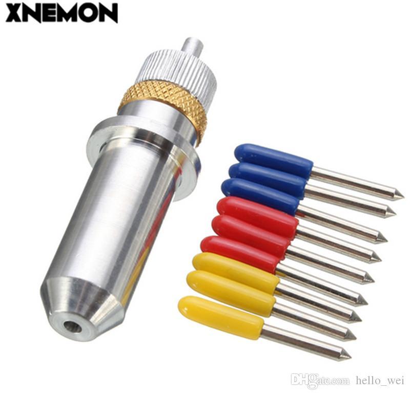 XNEMON 9 teile / satz 30 45 60 Grad Roland Schneideplotter Hartmetallklingen Vinyl Cutter + Roland Klingenhalter