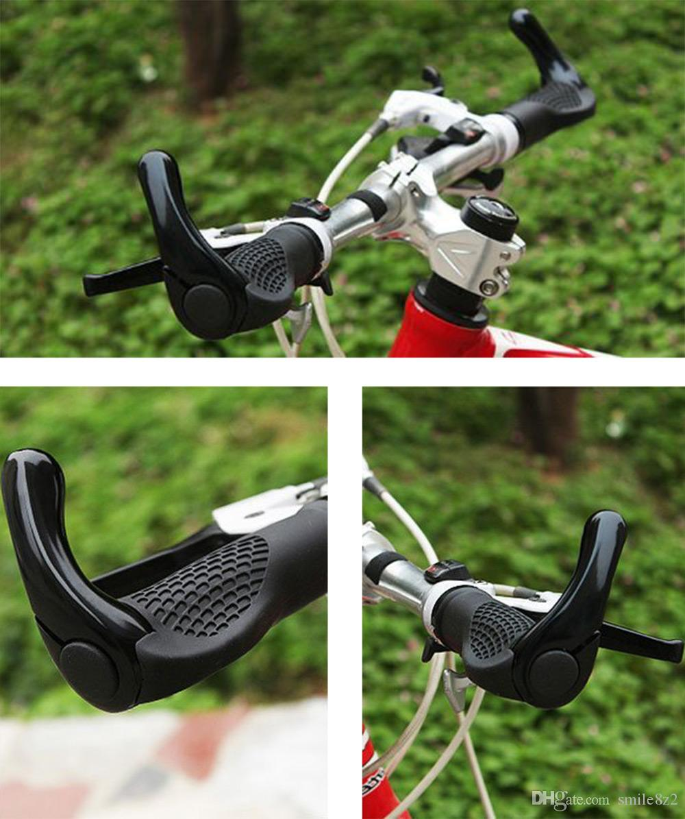 2018 Road Bicycle Bike Handblebar Grips Ergonomic Rubber Grips