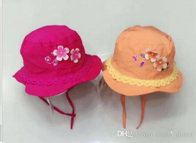 Cappello da sole / del cappello della protezione del cappello di Sunhat Hat della neonata di disegno misto