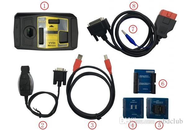 Good Original Xhorse V4.0.0 VVDI MB BGA Tool For Benz Key Programmer Including BGA Calculator For Customer Bought Xhorse Condor