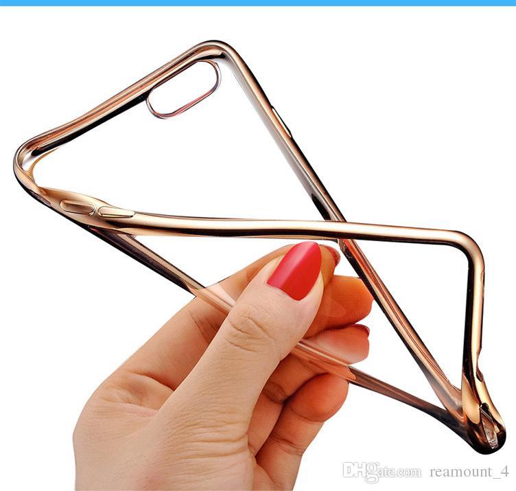 Großhandel für iPhone 7 7 Plus-Telefon-Abdeckung Transparent klar weichen Silikon TPU Schutz Telefon-Abdeckung Telefon-Fall