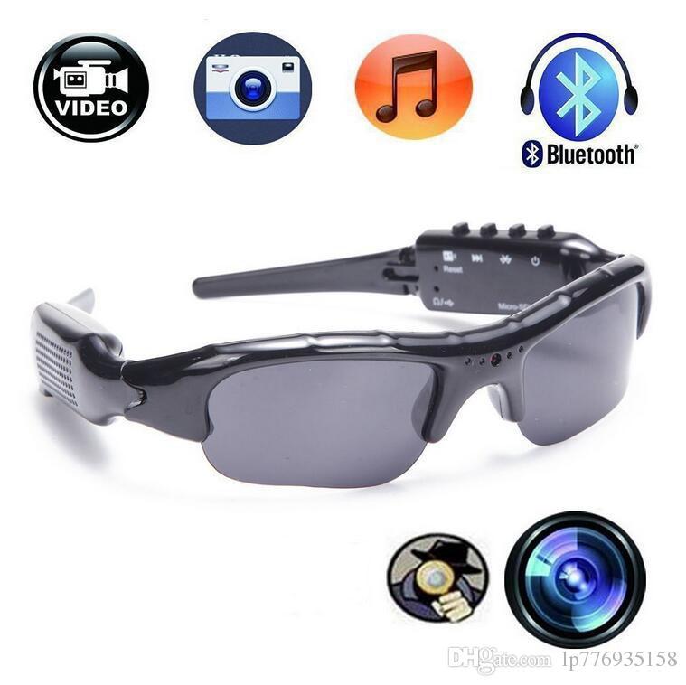 340c45fa15b 2019 1280 720P HD Hidden Sport Bluetooth Sunglasses Spy Camera Video  Recorder Sunglasses With Bluetooth Headphone And Handsfree MP3 Player From  Lp776935158