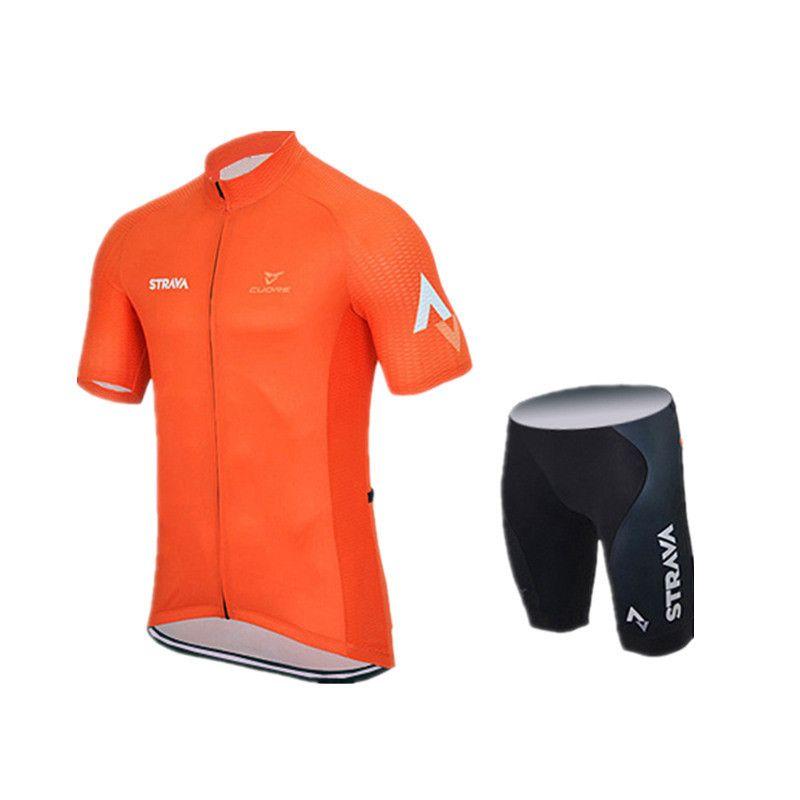 Ropa Ciclismo Strava Team Sommer Radfahren Jersey mtb maillot Atmungsaktive Fahrradbekleidung Quick-Dry kurzarm Fahrrad Sportswear A0401