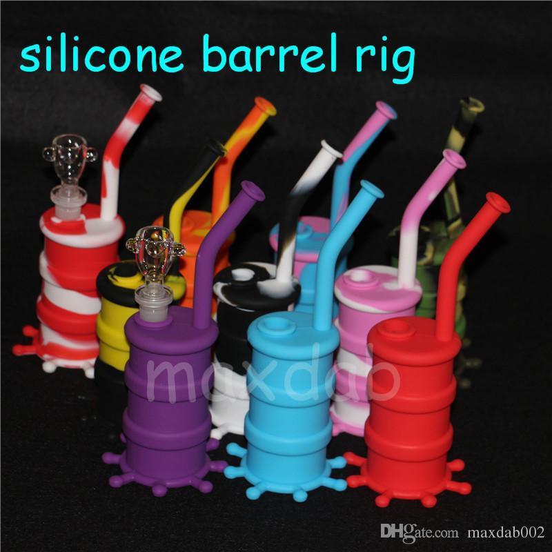 Nouveau Pipe à eau en silicone Plate-forme en silicone pour huile