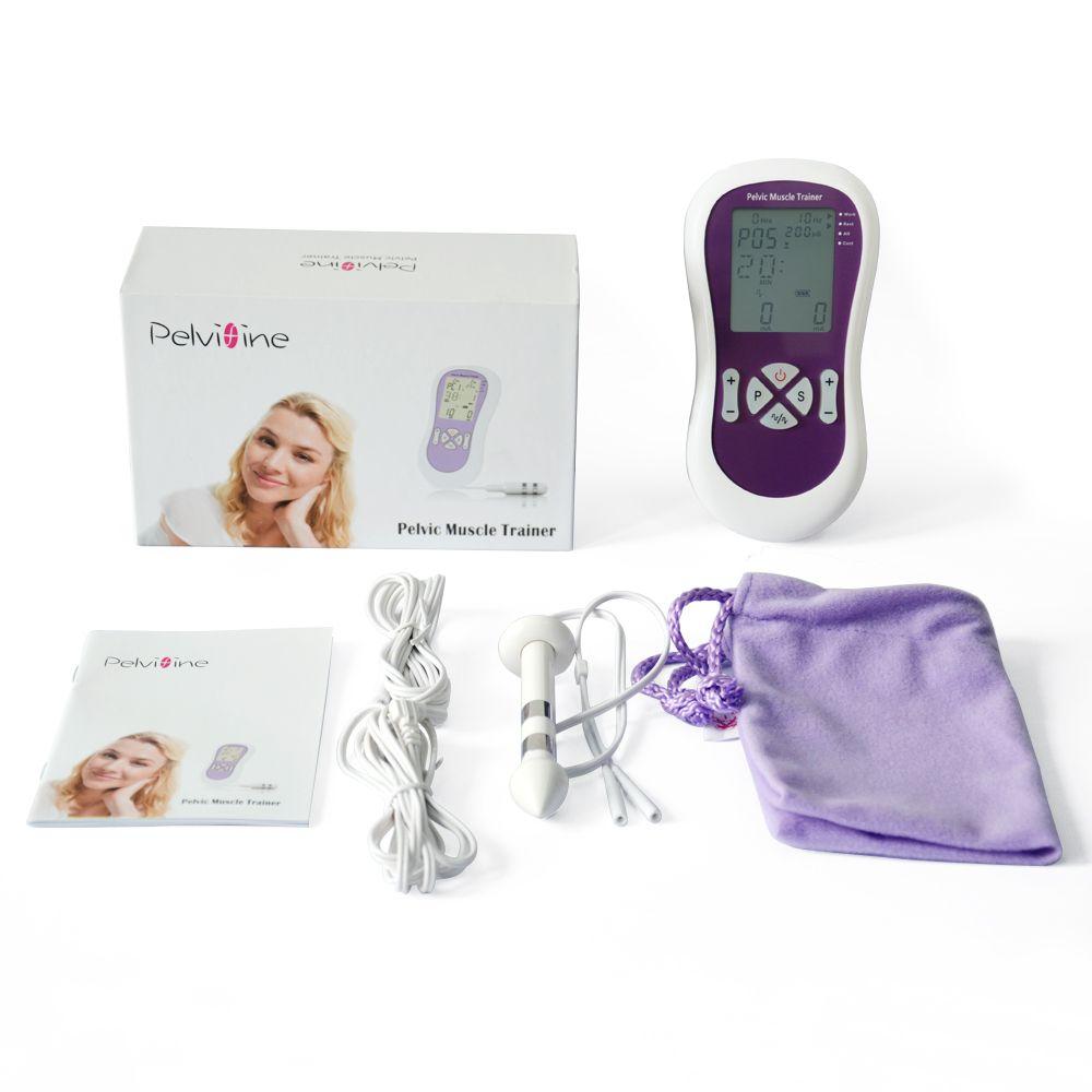 جهاز تمرين العضلات الكهربائي من كيجل + جهاز فحص الشرج + التحقيق المهبلي ، علاج سلس البول لممارسة عضلات الحوض