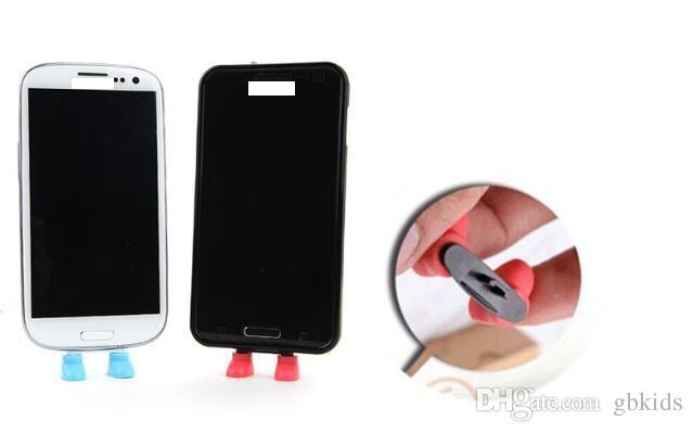 doca de plug sapatos suporte anti-poeira sapatos linha de data jack com suporte para proteção à prova de telefone inteligente
