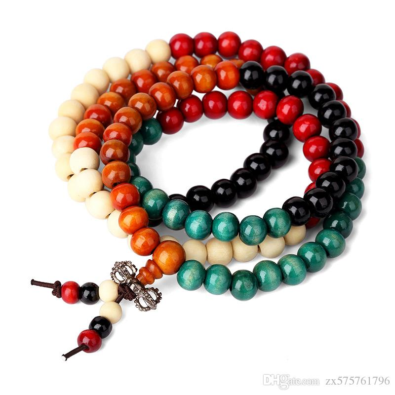 2018 Fashion Women Costume Jewelry Beaded Necklace Wood Beads Diy Handmade Design Punk Rock Filling Pieces Men Jewelry From Zx575761796 $5.22 | Dhgate.Com  sc 1 st  DHgate.com : handmade costume jewelry  - Germanpascual.Com