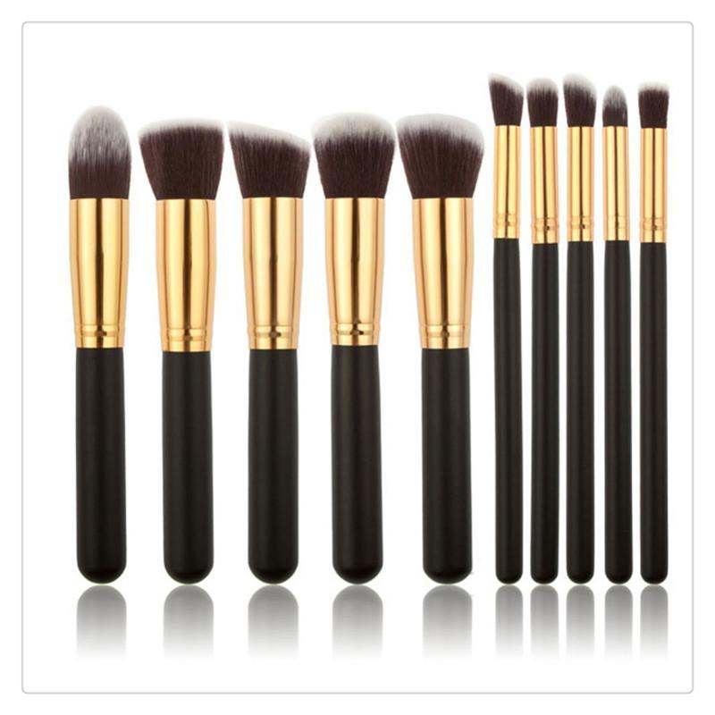 2017 HotSelling Pincéis de Maquiagem Set New Ferramentas de Maquiagem Cosméticos Rosto Eyeshadow Brushes Frete Grátis MakeUp Escova Set Kits