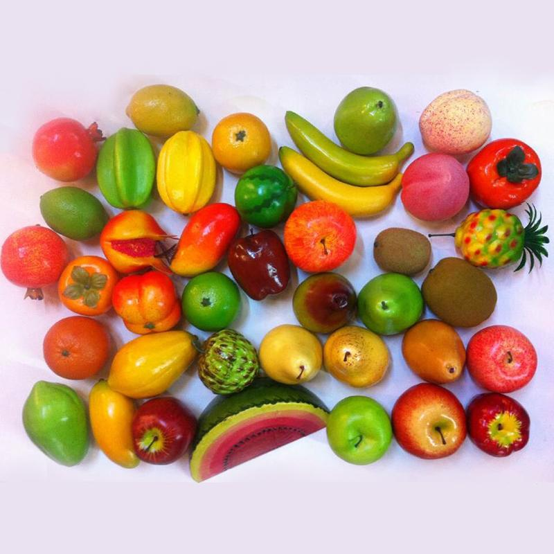2018 2017 New Arrival Artificial Fruits Simulation Fruit Fake Vegetables  Wedding Home Table Decoration Shoot Prop From Yigu001, $24.08 | Dhgate.Com