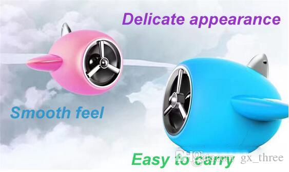 Armee grüne Farbe kreativ von Flugzeugmodell Mini-Bluetooth-Handy Stereo-USB-Heavy-Bass-Cartoon-Small-Size-Gun-Sound