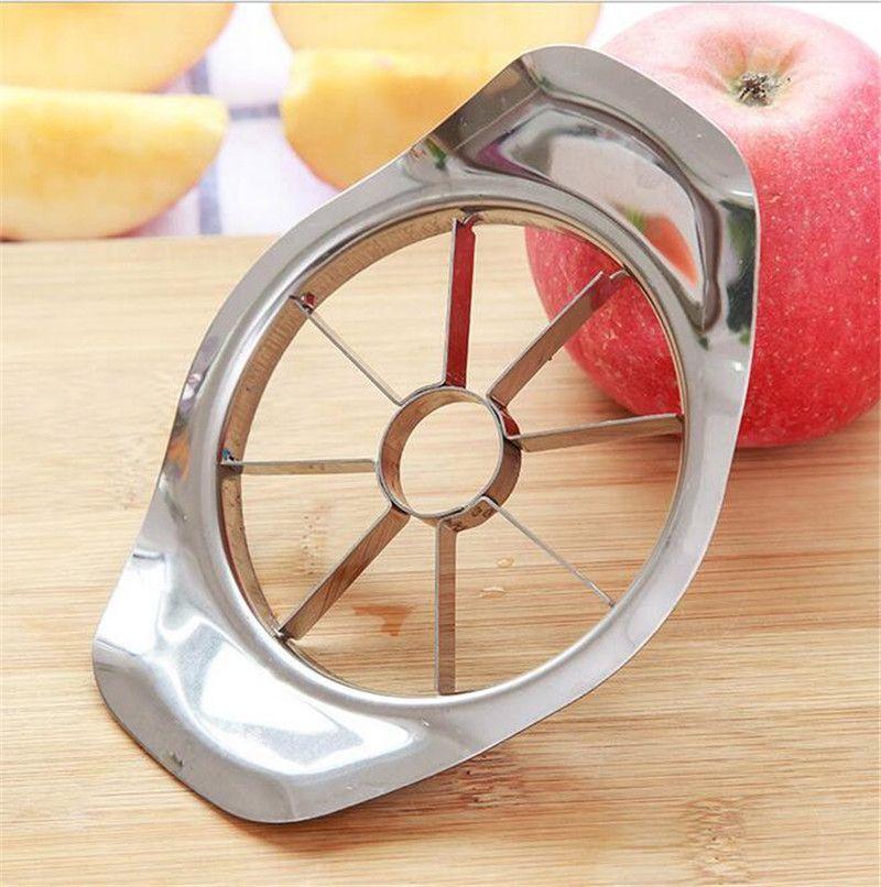 Нержавеющая сталь яблоко slicer овощной фрукты яблоко груша резак Slicer обработки кухня нарезки ножи посуда инструмент