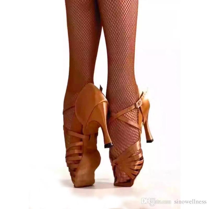 Quality Dance Latin Dancing Shoes For Women Zapatos De Baile Latino Latin Dance Shoes -7909