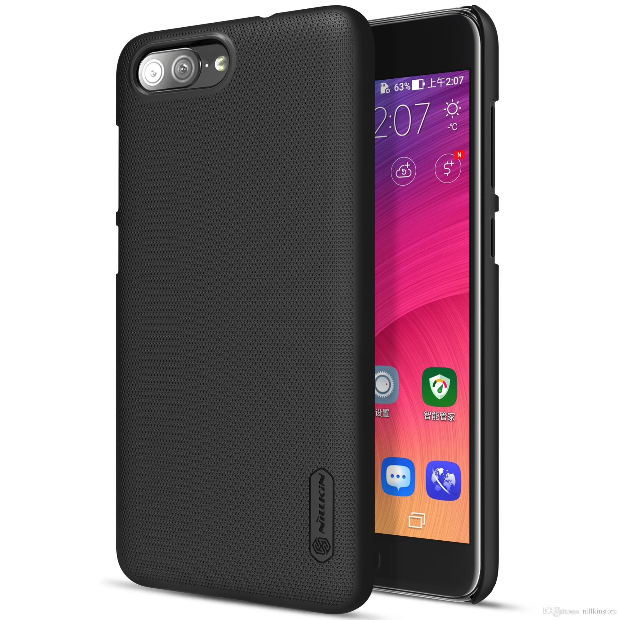Handyhullen Htc One Nillkin Case Fur Asus Zenfone 4 Max Plus Zc550tl Frosted Shield Cover Geschenk Displayschutzfolie